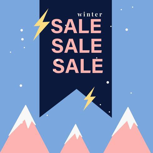 Badge vente VENTE shopping et vecteur de détail