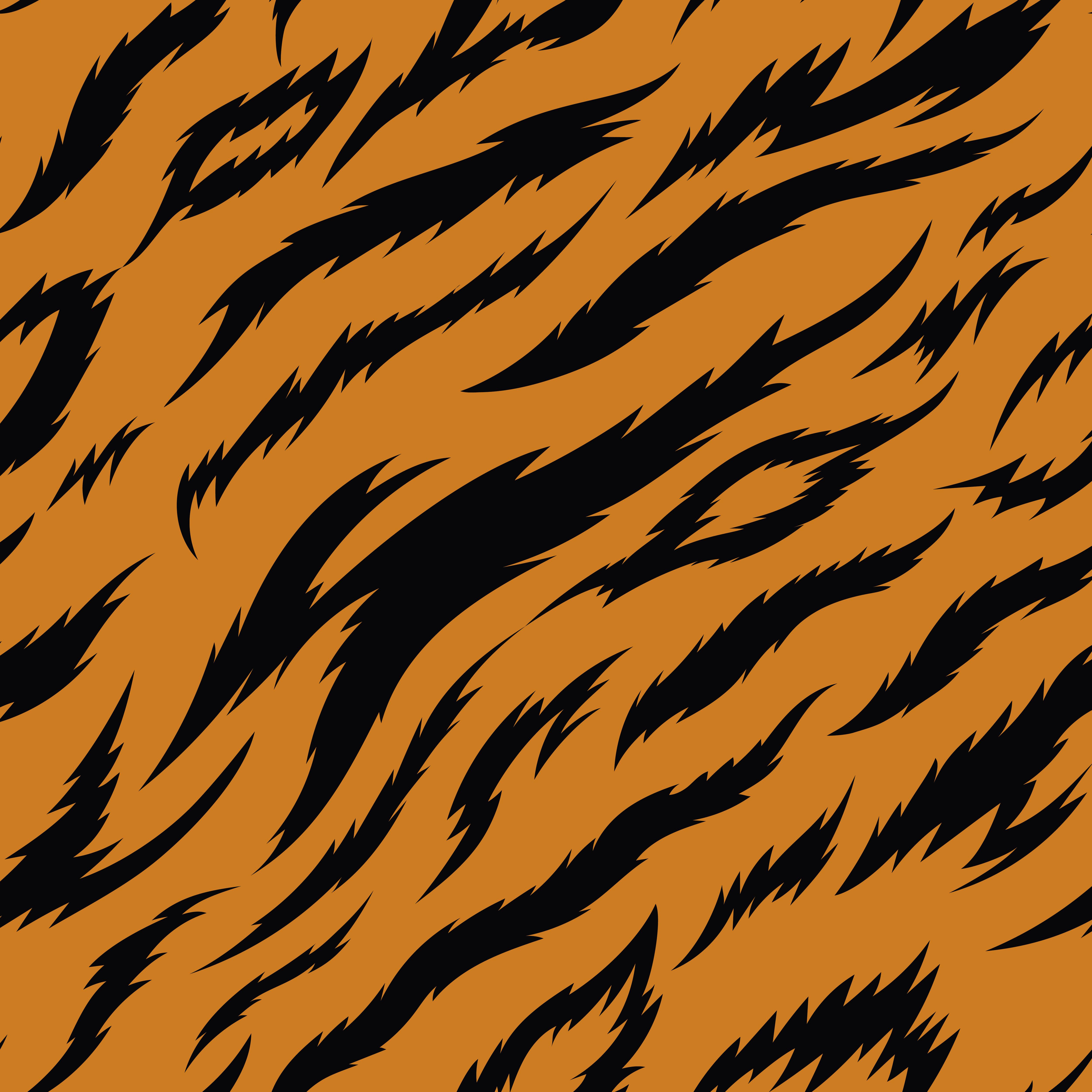 Padrao De Vetor Sem Emenda De Listras De Tigre Download Vetores