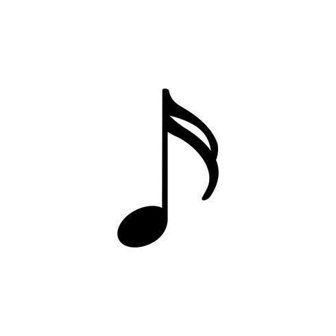 Ilustración de una nota musical