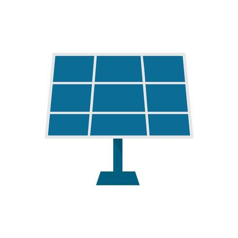 Illustrazione grafica isolata del pannello solare