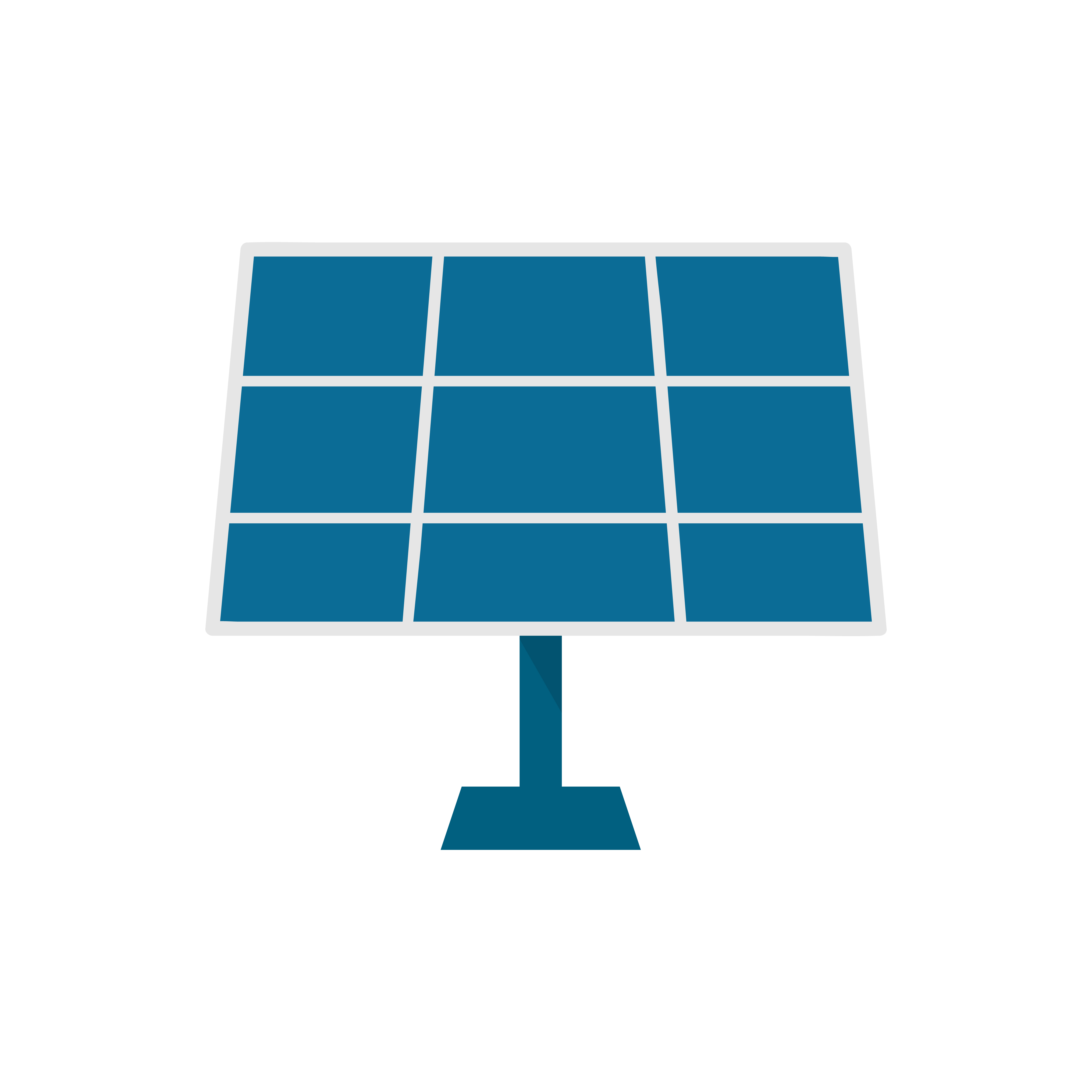Solar Panel Isolated Graphic Illustration Download Free