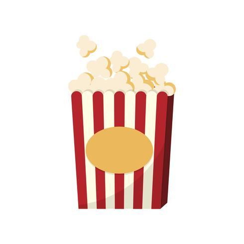 En kopp popcorn grafisk illustration