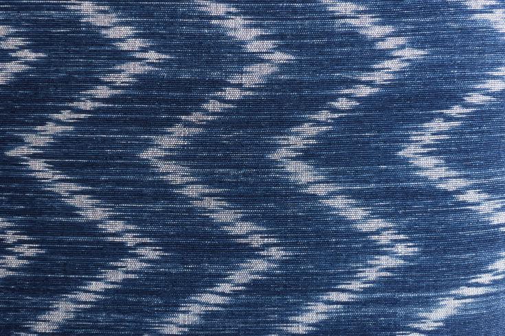 Strukturierte Tapete der blauen und weißen Gewebe