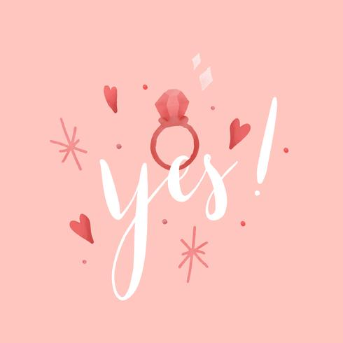Yes I do typography vector