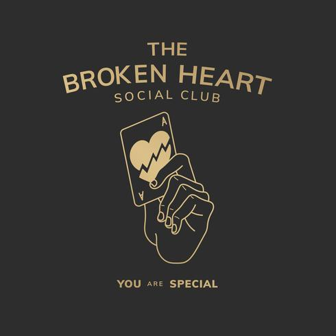 The broken heart club illustration