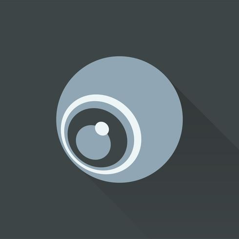Illustratie van webcampictogram