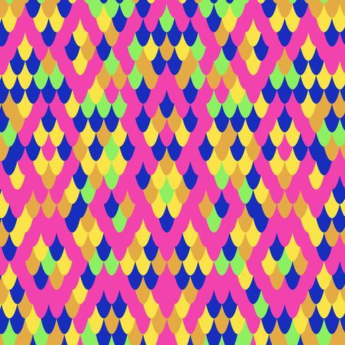 Vector de patrón de diseño de serpiente inconsútil