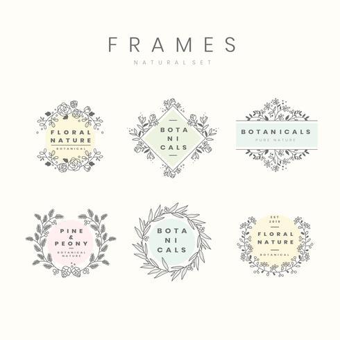 Laurel frame design set