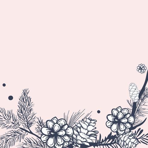 Leere Blumen einladen