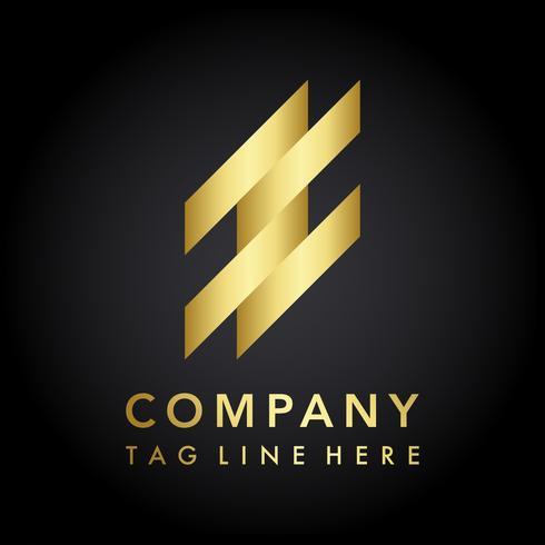 Vecteur de conception de logo de société moderne