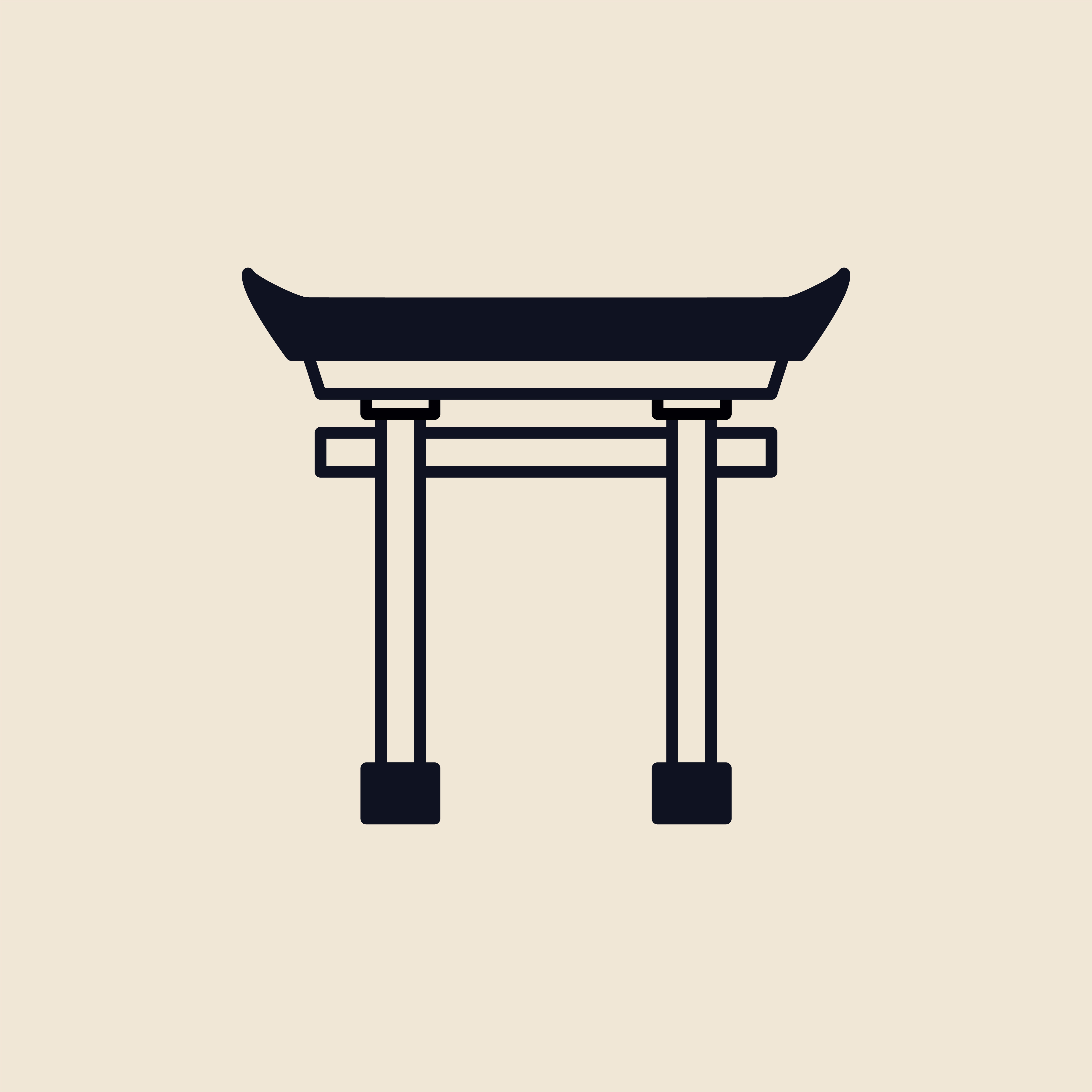 Illustration of a Torii gate - Download Free Vectors ...