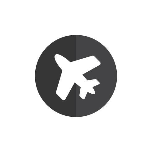 Illustration de l'icône de l'avion