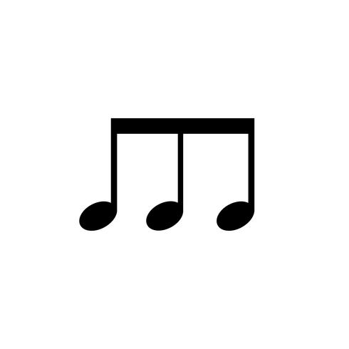 Abbildung einer Musiknote