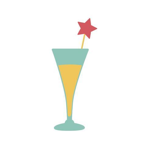 Ilustração, de, álcool, bebida, ícone