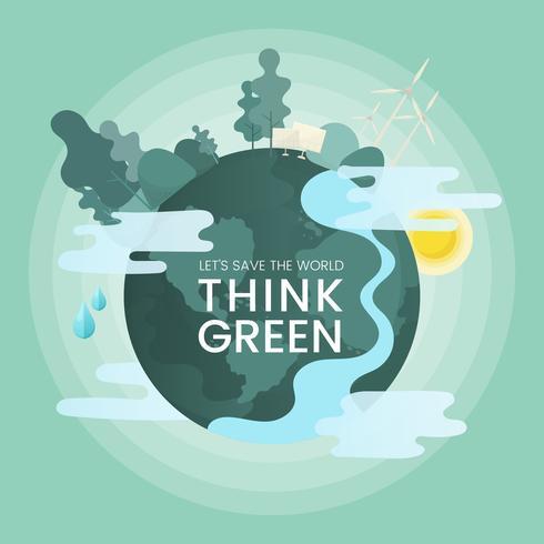 Pensa verde