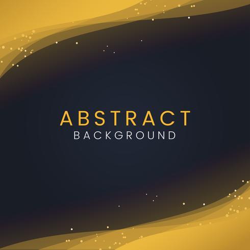 Papier peint abstrait avec des particules de paillettes d'or décoratives