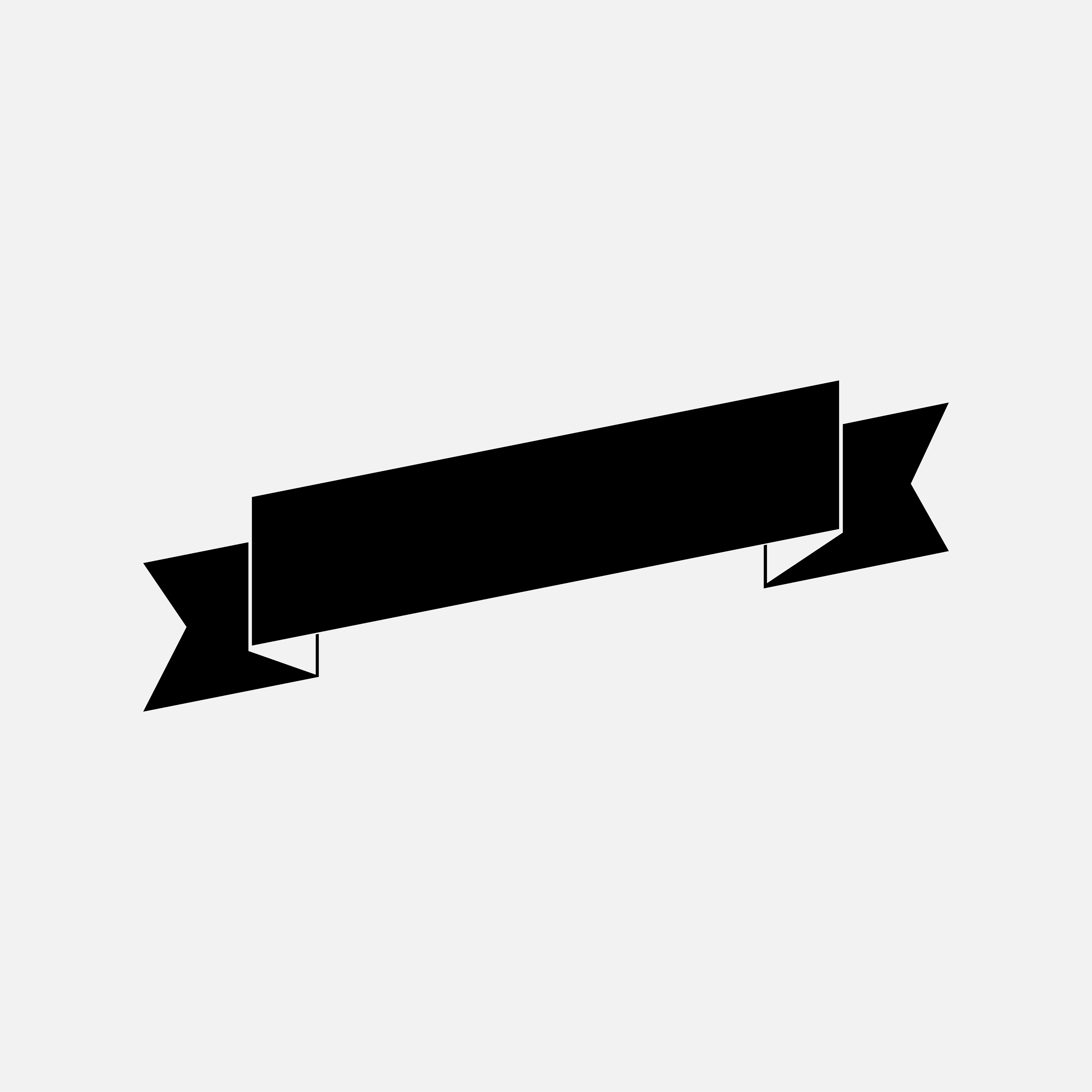 Blank black ribbon banner vector - Download Free Vectors ...