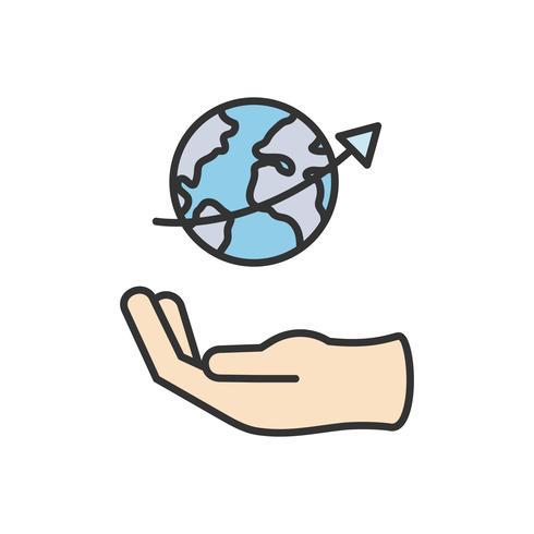 Illustratie van bedrijfspictogram