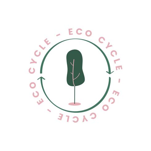 Il ciclo ecologico dell'icona della natura