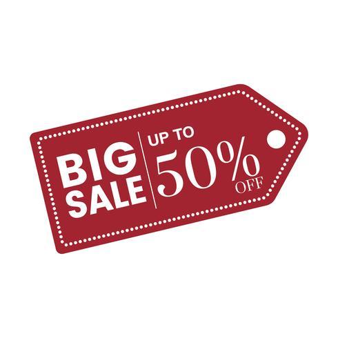 50 procent rabatt på säljesymboler