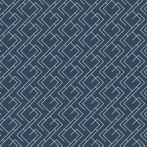Minimal indigo tie-dyed geometric pattern