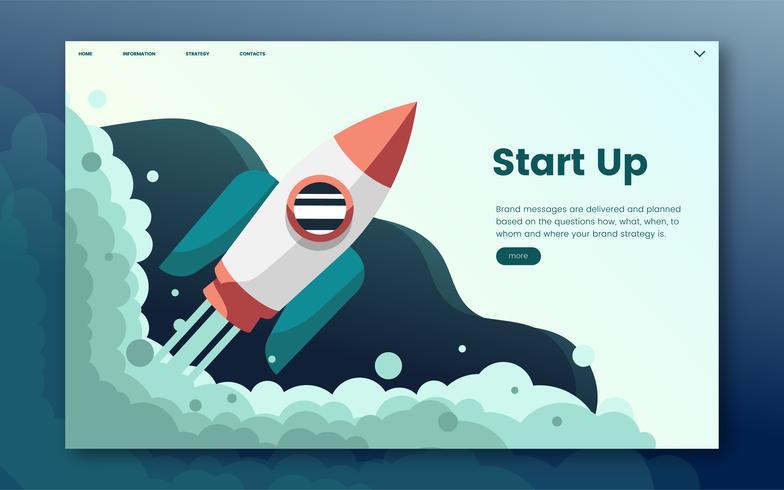 Start informatie grafische website
