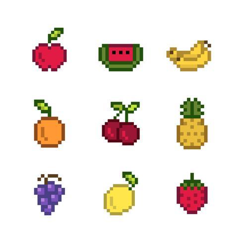 Verzameling van gemixte korrelig fruit