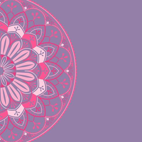 Indian mandala background