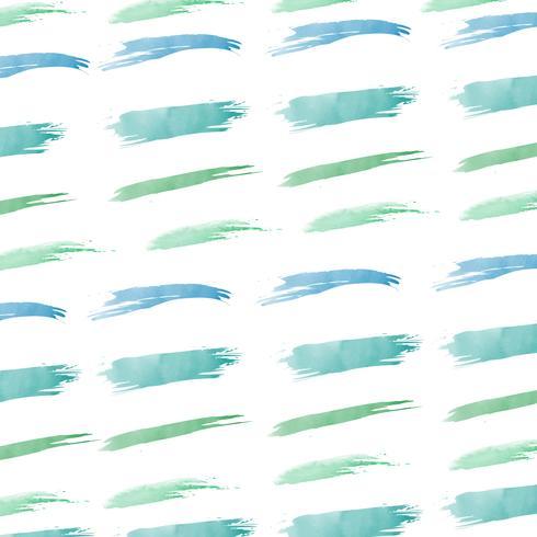 Pastel green watercolor background vector