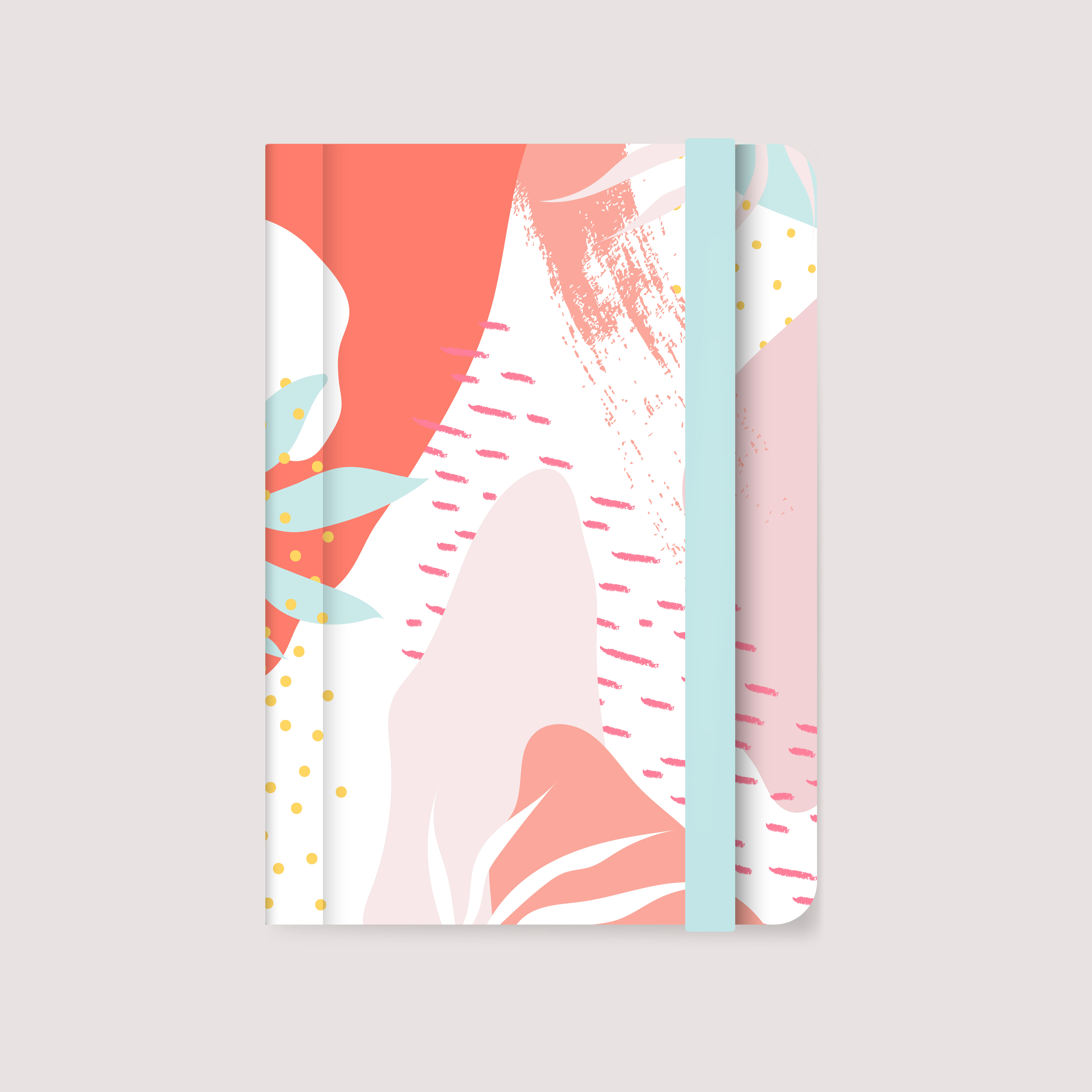 Notebook Cover Free Vector Art