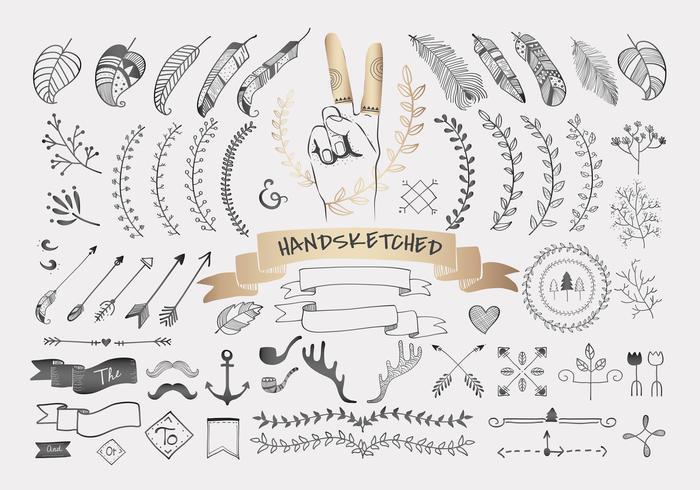 Disegno di viaggio disegnato a mano