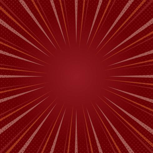 Vector de fondo de semitono degradado rojo