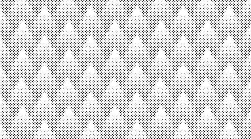 Vector de fondo de medios tonos blanco y negro