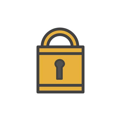 Illustrazione dell'icona di blocco