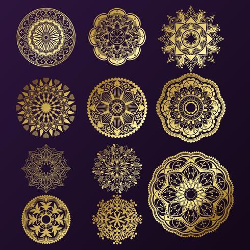 Indisk mandala design