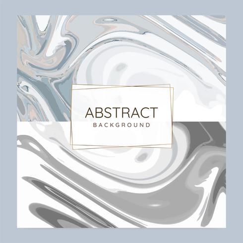 Abstrakte Farbe gießen Hintergrundvektorsatz