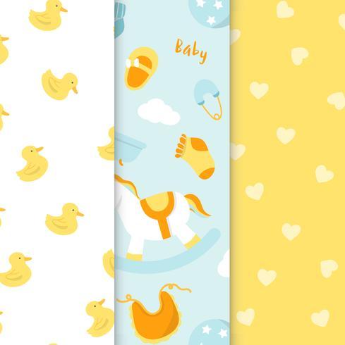 Nursery pattern set