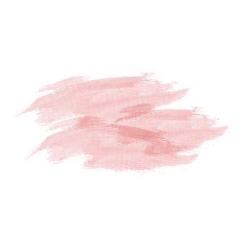 Pastel peach watercolor background vector