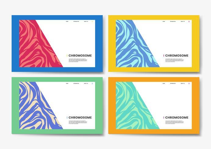 Conception de sites Web sur les sciences de l'éducation sur les chromosomes