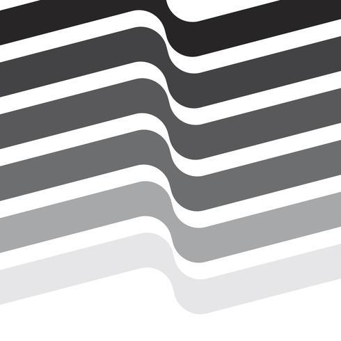 Monokrom schweizisk grafisk illustration