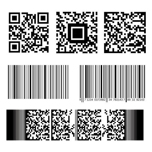 Streckkod och QR-kodsamling