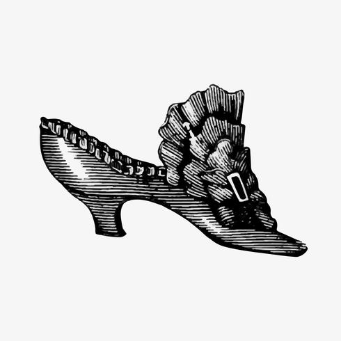 Vintage shoe design