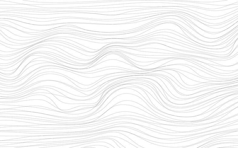 L'onda struttura il vettore bianco del fondo
