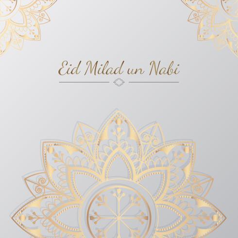 Eid kort illustration