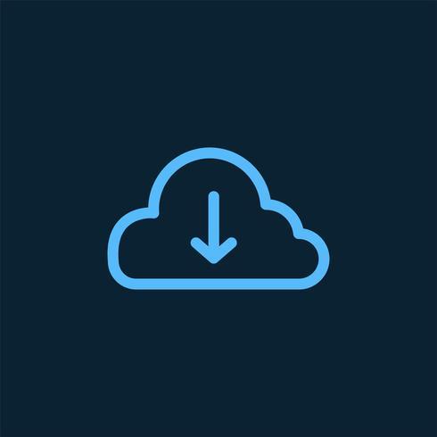 Hämta från symbolen för molnlagringssymbolen