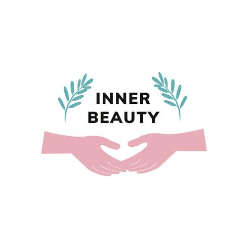 Inner beauty and balance icon