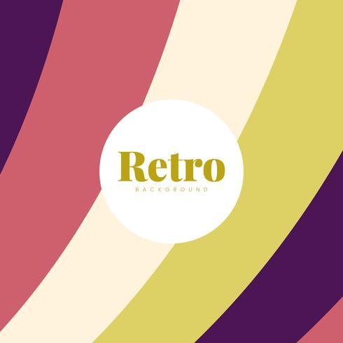 Kleurrijk retro drukontwerp als achtergrond