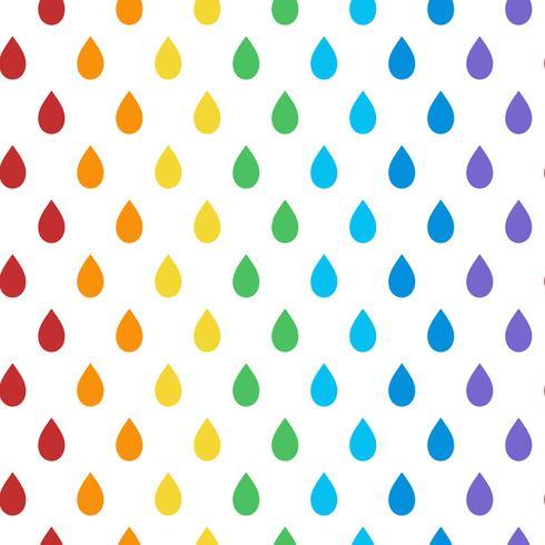 Vecteur de motif coloré sans soudure