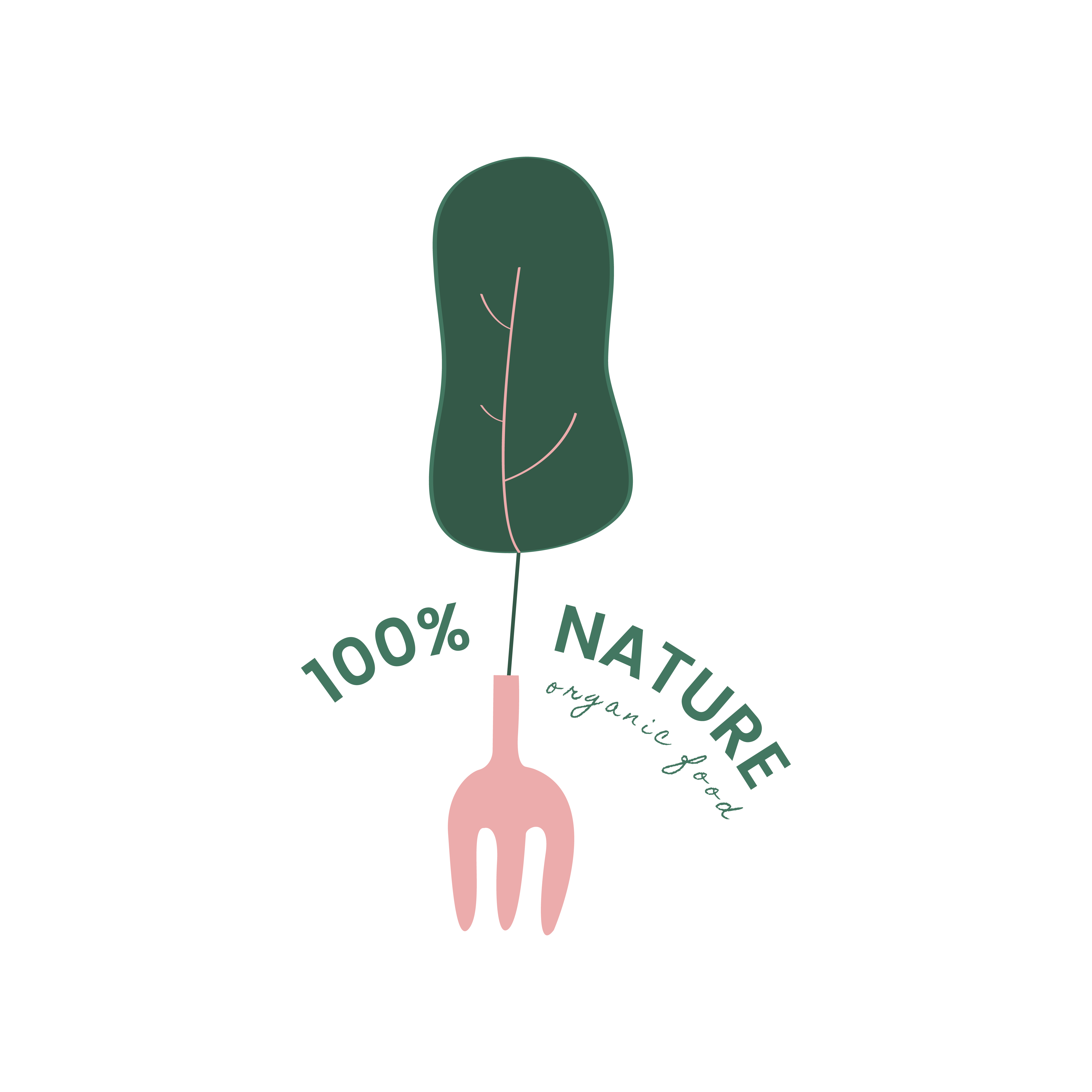 Set Of Labels For Natural Farming:  Natural And Organic Products Icon