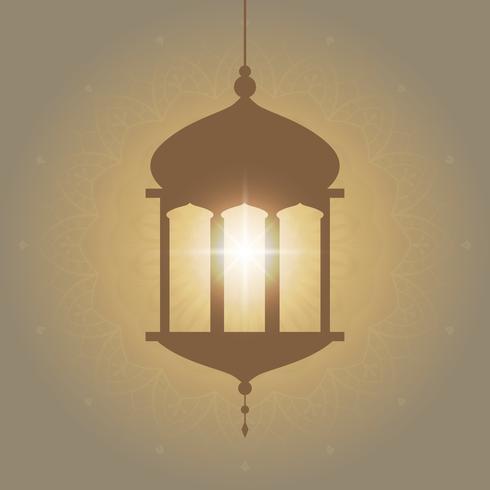 Eid card illustration